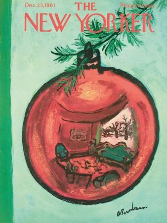 The New Yorker Cover - December 23, 1961