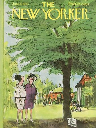 The New Yorker Cover - June 8, 1963
