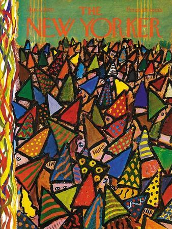 The New Yorker Cover - January 2, 1965