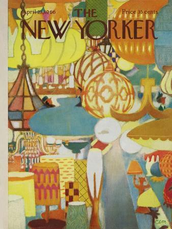 The New Yorker Cover - April 23, 1966