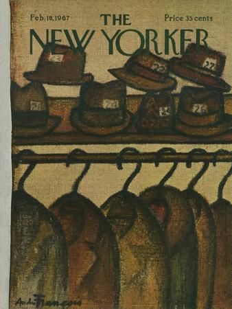 The New Yorker Cover - February 18, 1967