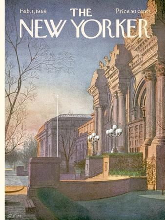 The New Yorker Cover - February 1, 1969