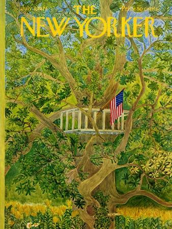 The New Yorker Cover - July 3, 1971