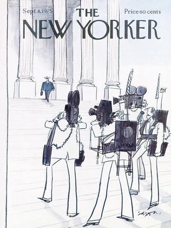 The New Yorker Cover - September 8, 1975