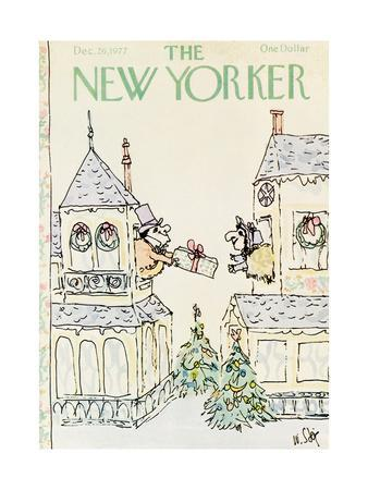 The New Yorker Cover - December 26, 1977