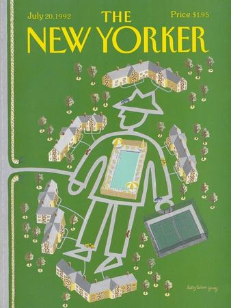 The New Yorker Cover - July 20, 1992