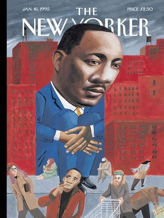 The New Yorker Cover - January 16, 1995