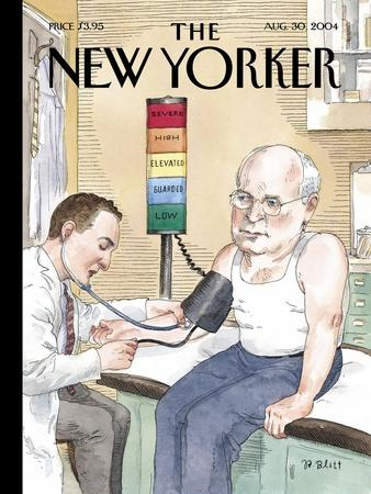 The New Yorker Cover - August 30, 2004