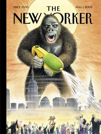 The New Yorker Cover - August 1, 2005