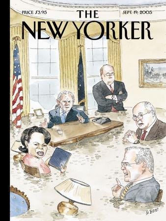 The New Yorker Cover - September 19, 2005