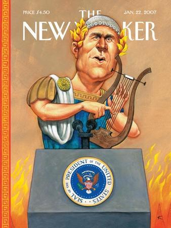 The New Yorker Cover - January 22, 2007