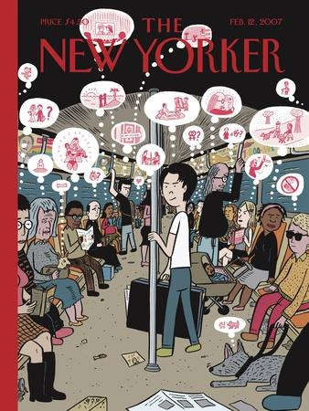 The New Yorker Cover - February 12, 2007