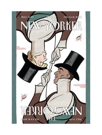 The New Yorker Cover - February 11, 2008