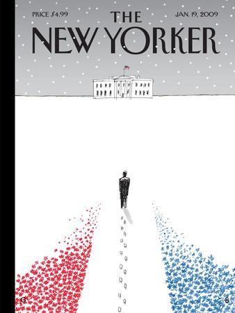 The New Yorker Cover - January 19, 2009