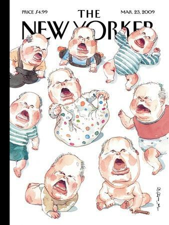The New Yorker Cover - March 23, 2009