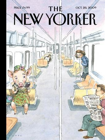 The New Yorker Cover - October 26, 2009