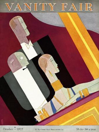 Vanity Fair Cover - October 1927