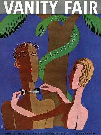 Vanity Fair Cover - August 1931