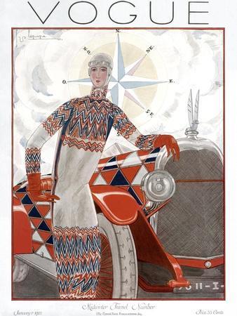 Vogue Cover - January 1925