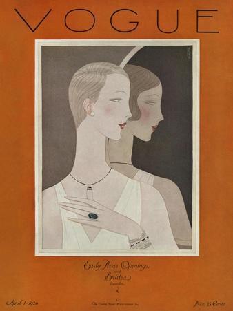 Vogue Cover - April 1926
