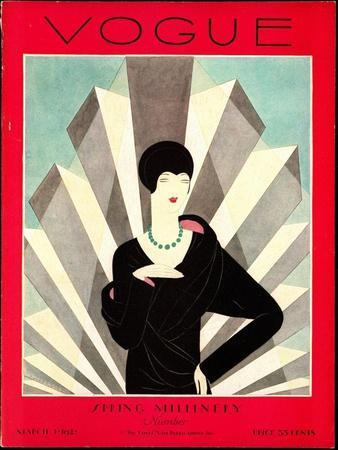 Vogue Cover - March 1927
