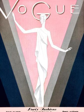 Vogue Cover - April 1928