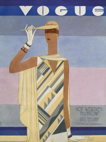 Vogue Cover - July 1928