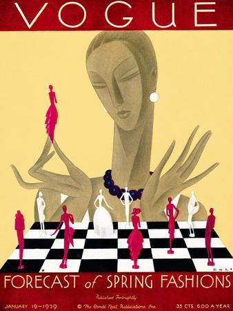 Vogue Cover - January 1929