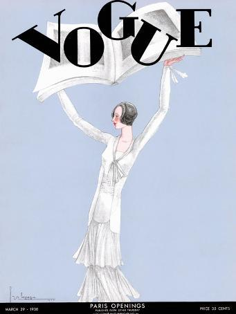 Vogue Cover - March 1930