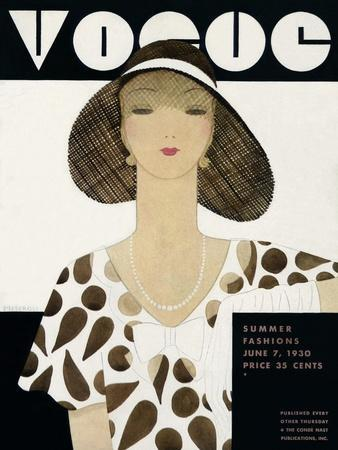 Vogue Cover - June 1930