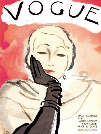 Vogue Cover - November 1930