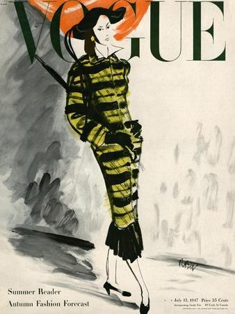 Vogue Cover - July 1947