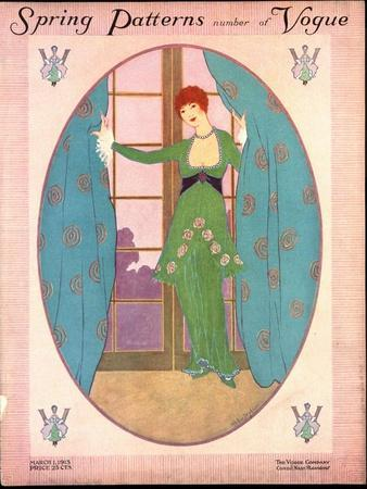 Vogue Cover - March 1913