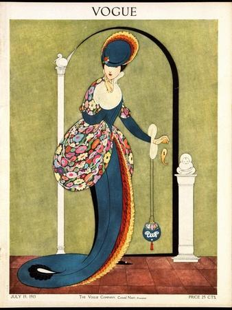 Vogue Cover - July 1913
