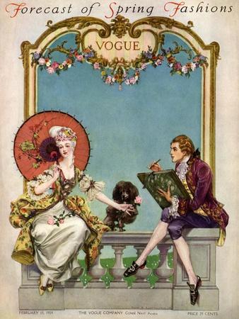 Vogue Cover - February 1914