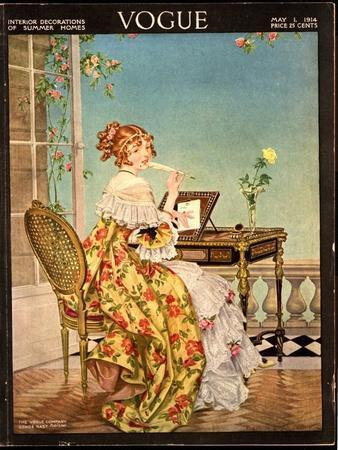 Vogue Cover - May 1914