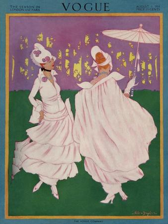 Vogue Cover - August 1914