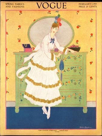Vogue Cover - February 1915