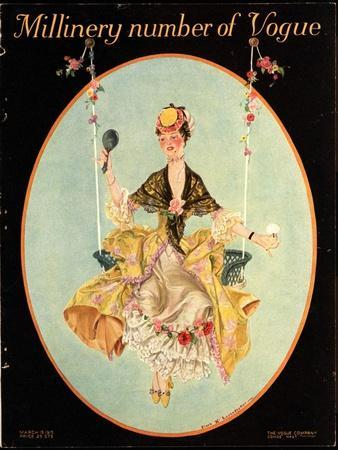 Vogue Cover - March 1915