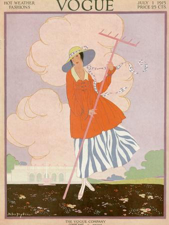 Vogue Cover - July 1915