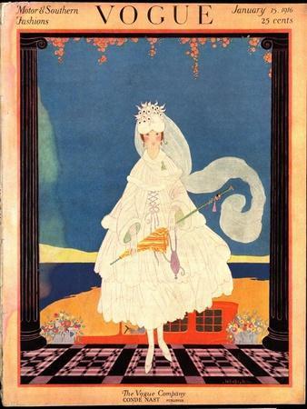 Vogue Cover - January 1916
