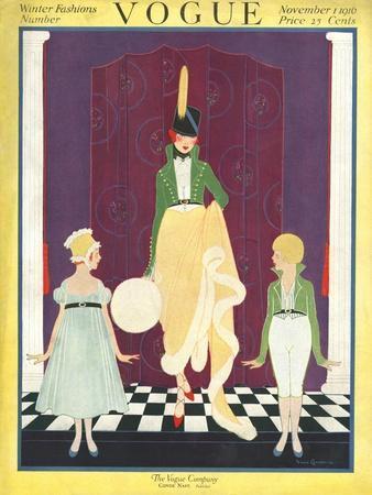 Vogue Cover - November 1916