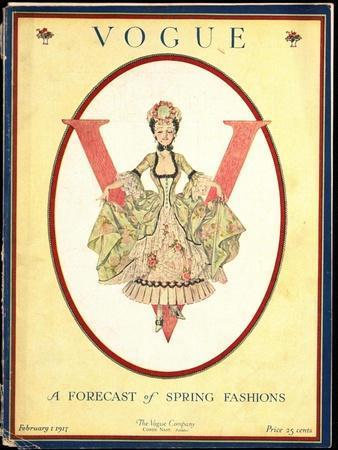 Vogue Cover - February 1917
