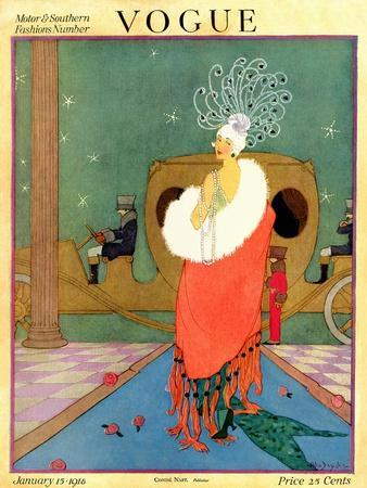 Vogue Cover - January 1918