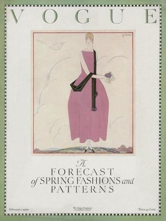 Vogue Cover - February 1920