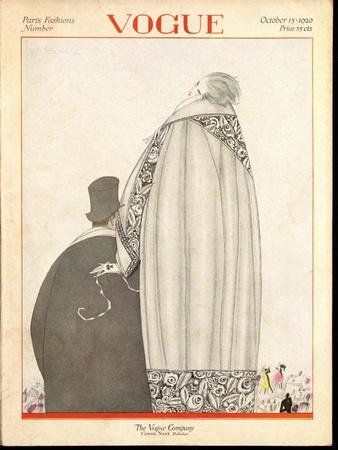 Vogue Cover - October 1920