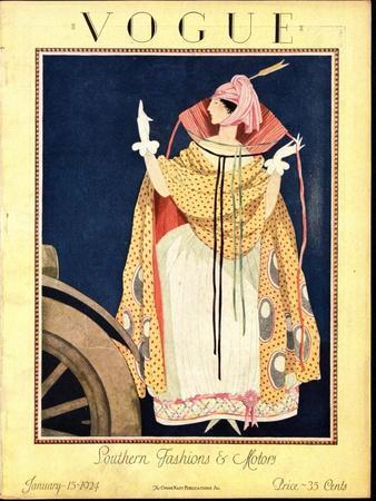 Vogue Cover - January 1923