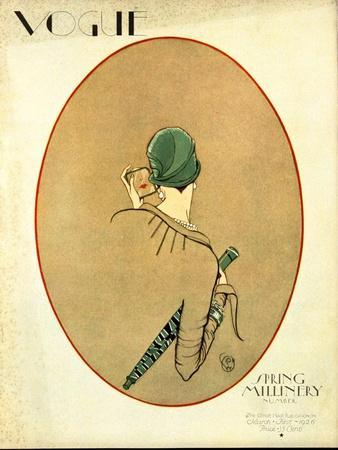 Vogue Cover - March 1926