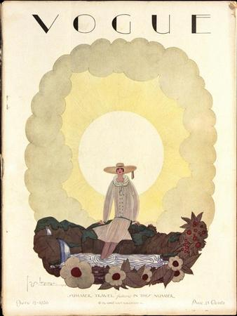 Vogue Cover - June 1926