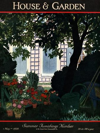 House & Garden Cover - May 1928